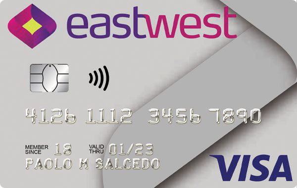 Best Credit Cards For Young Adults, First Timers in Philippines, EastWest Bank Classic Visa