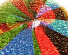 Single-Layer Graphene Atomic Patchwork Quilts