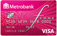 Best Credit Cards for Entertainment In the Philippines, Metrobank Femme Visa