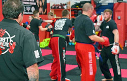 Adult Kickboxing Martial Arts Centre - Coalville & Hathern, Leicestershire, Strength Forge