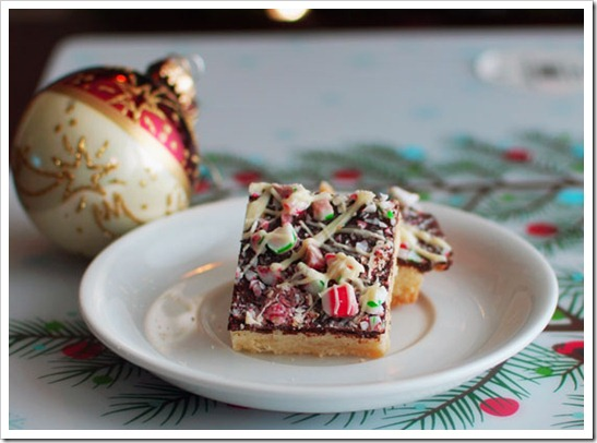Peppermint-Shortbread