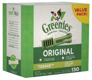 RatTerrierAdvice.Com - Rat Terrier Dental Care Greenies Teenie