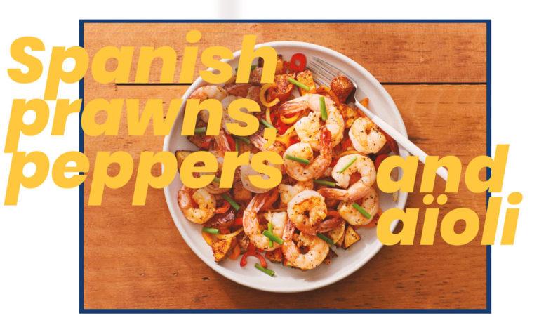 spanish prawns peppers Barcelona