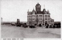 Karnes County Courthouse, Karnes City, Texas 1900s