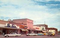 Street Scene, Brownfield, Texas 1957