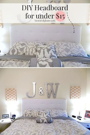 Diy Headboard For Under 15