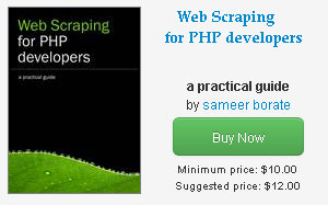 web scraping ebook