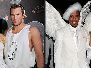 Who Wears His Wings Better: Doug Reinhardt or Nick Cannon? | Nick Cannon