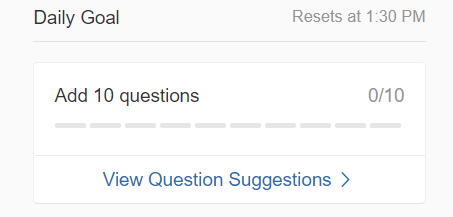 10 quality questions - First task - Quora Partner Program