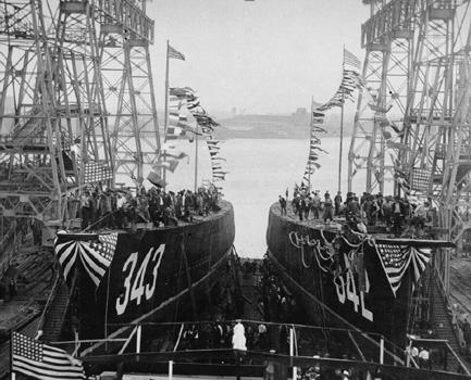 USS Hulbert and USS Noa photo