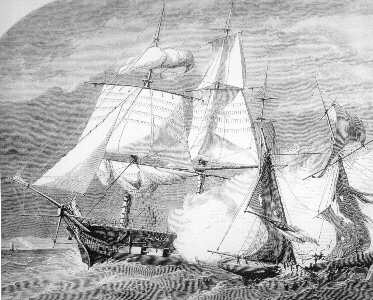 USS St Lawrence drawing
