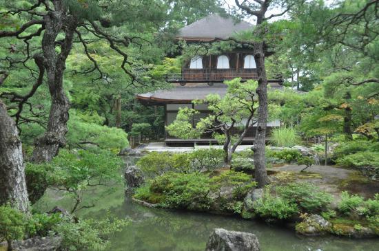 Temple Ginkaku-ji, le pavillon d'argent