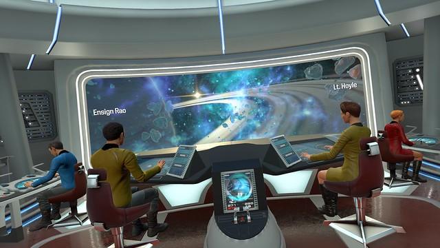 Star Trek Bridge Crew - Schiffsbrücke