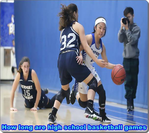 How long are high school basketball games
