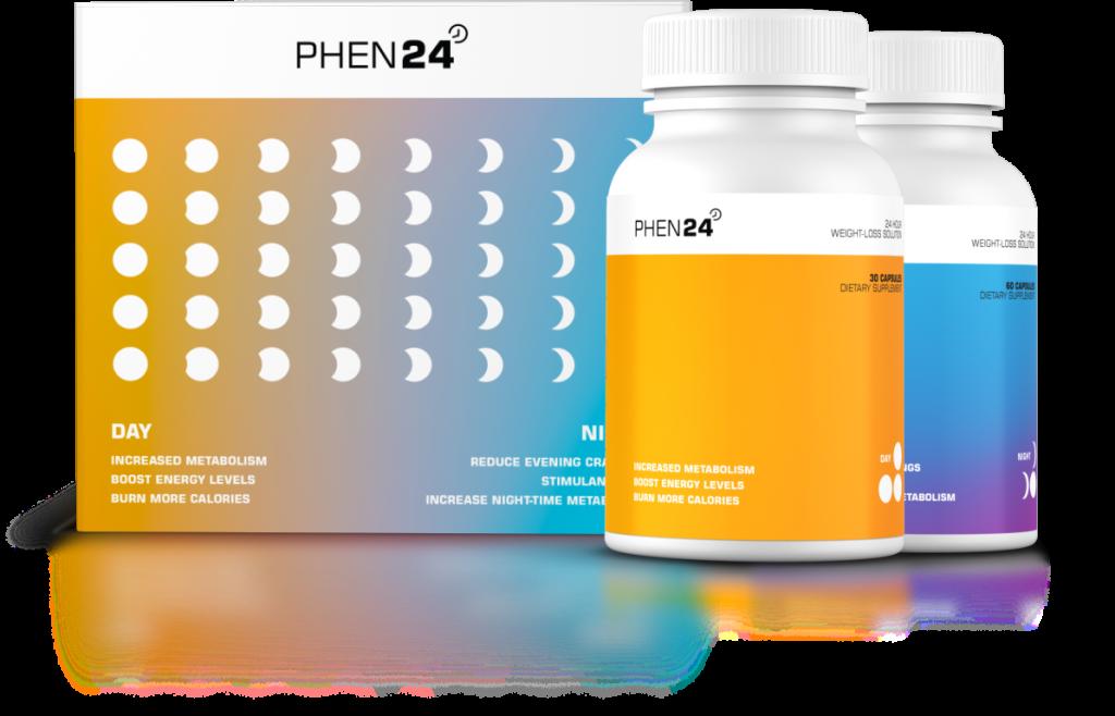 Phen24 day and night pills