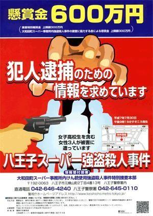 大和田町スーパー事務所内けん銃使用強盗殺人事件