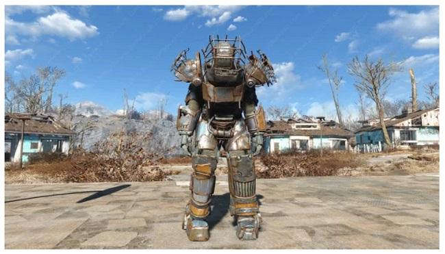 Fallout 4 Power Armor Mods