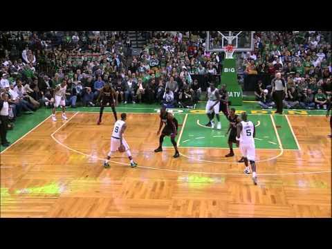 Rajon Rondo smart plays in the game vs Miami
