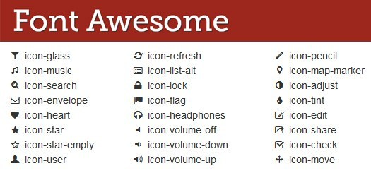 Icon Font trong CSS với FontAwesome