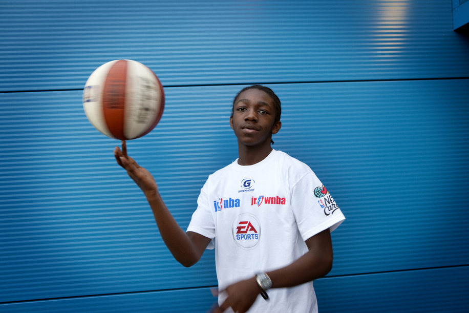 Ashley used to be very unhealthy and overweight. 3 years ago he started basketball encouraged by a PE teacher who works with the charity Greenhouse. He now lives for the sport and has lost a lot of weight and is more muscular. Ashley lives in South London with his mother.  London, Uk.  Hidden cities is a joint WHO / UN-HABITAT report about urbanization and global health issues. Photo stories from around the world reflect the hidden realities urban dwellers are facing, and highlight some health inequities.