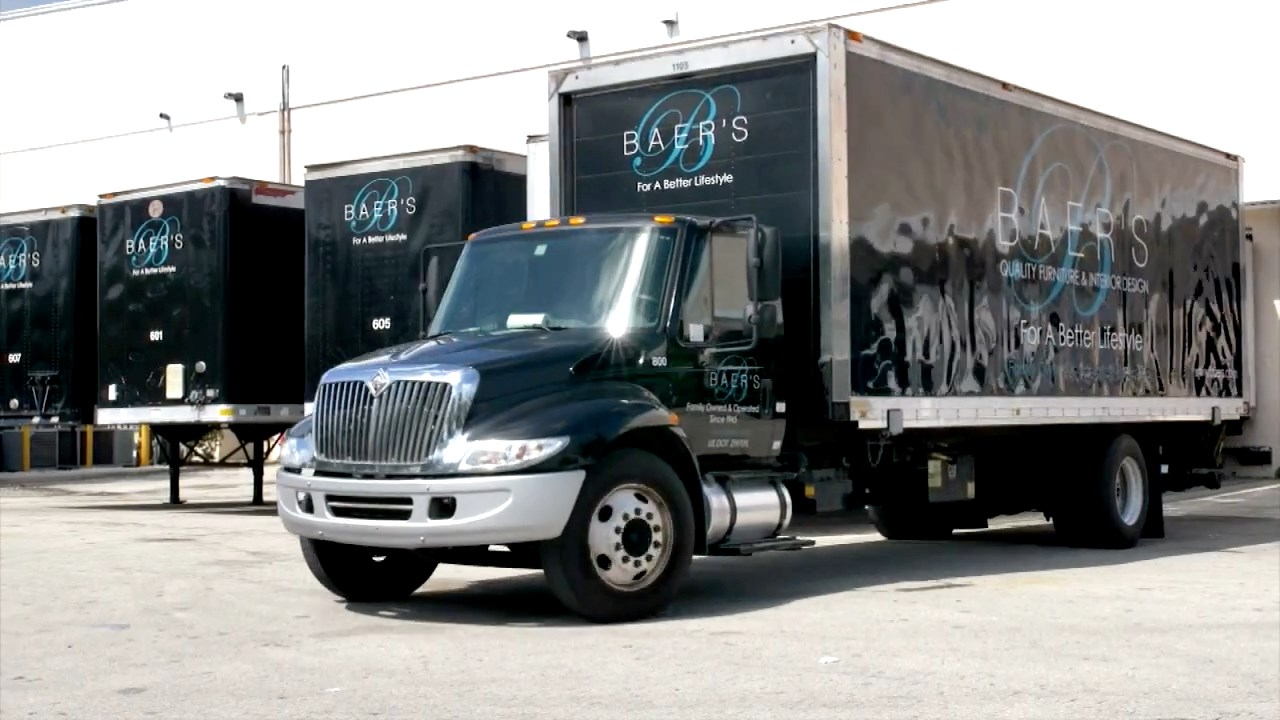 baers delivery truck