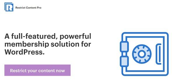 Download Restrict Content Pro WordPress Plugin