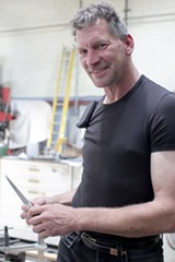 JUSTINE QUART - Jeff Pringle has been making knives since the Eighties.