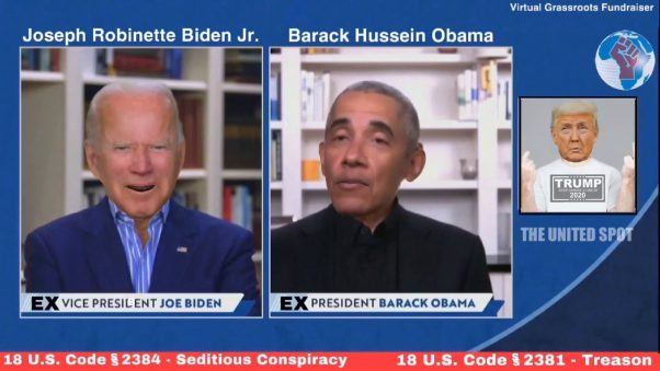 Obama and Biden Caught Red Handed