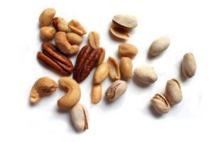 Nueces, almendras, avellanas para aumentar testosterona