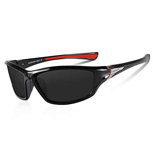 Queshark Gafas de Sol Deportivas Polarizadas Para Hombre Perfectas Par