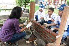 Student Training in Indonesia