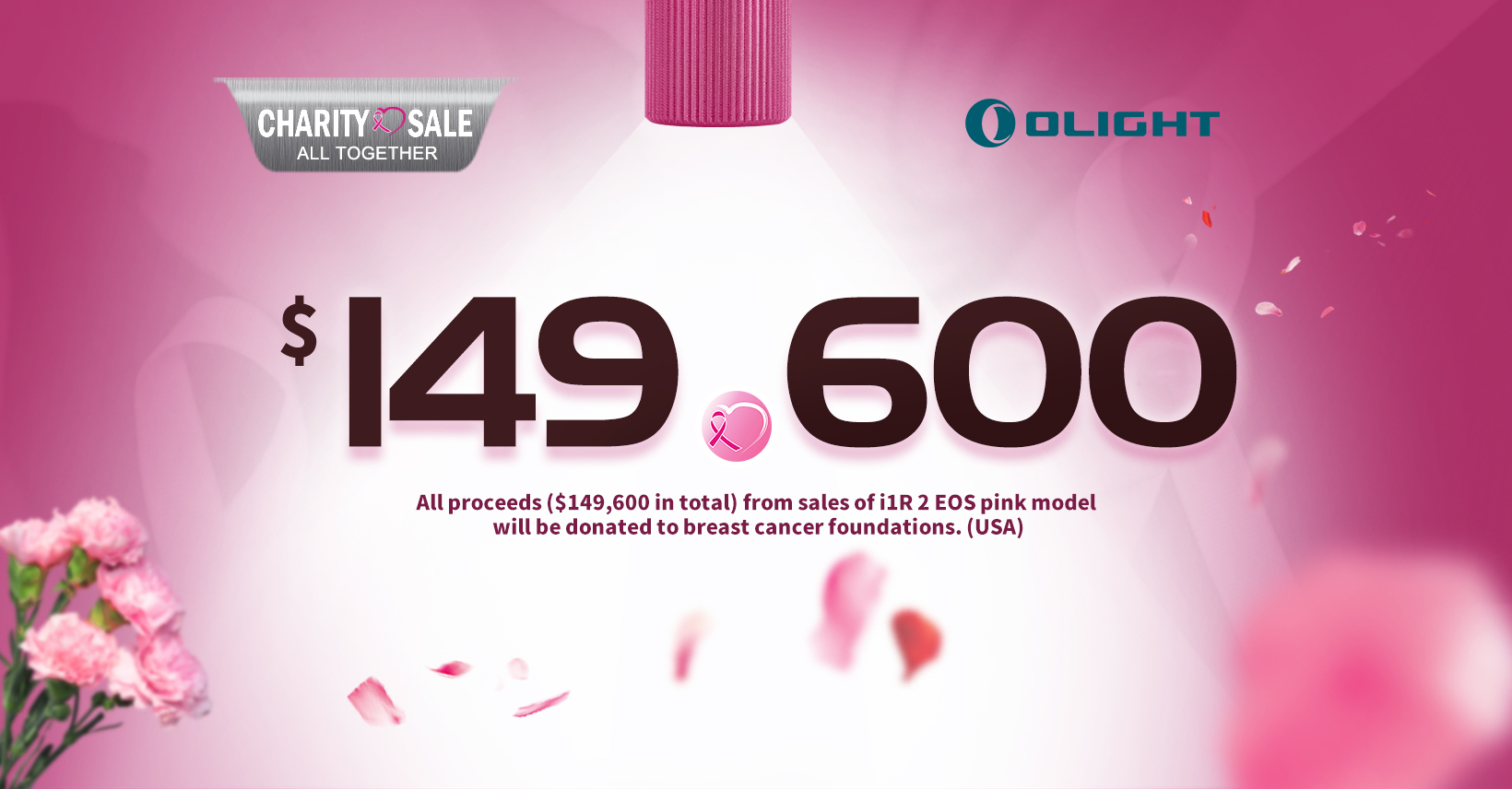 2020 Olight Breast Cancer Charity Sale