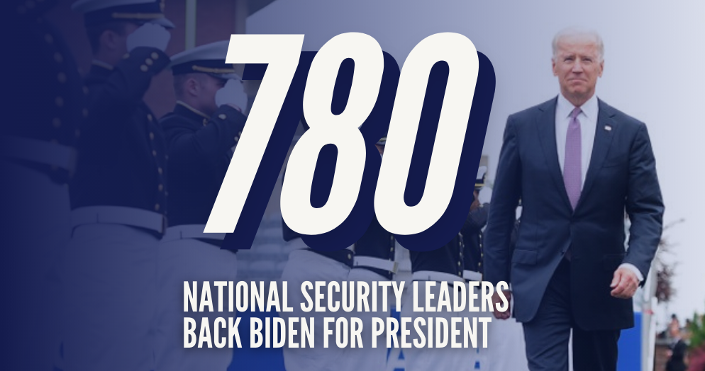 National Security Leaders for Biden