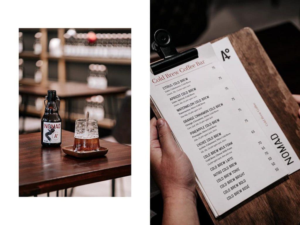 Nomad Cold Brew Coffee - quán cà phê đầy cá tính trên đường Võ Văn Tần, quận 3