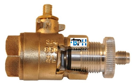 """EZ Quick Test Fittings Without Holder - (3) 1/4"""", For Testing 1/2"""" through 2"""" Backflow Preventers"""