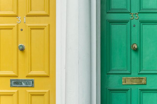 updating exterior doors