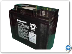 Panasonic SMF VRLA Battery 12v 75ah