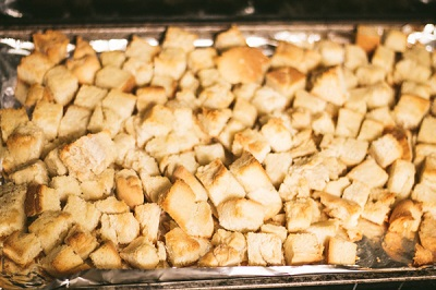 how to turn stale bread into bread pudding