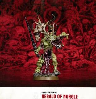 Chaos Daemons Herald of Nurgle