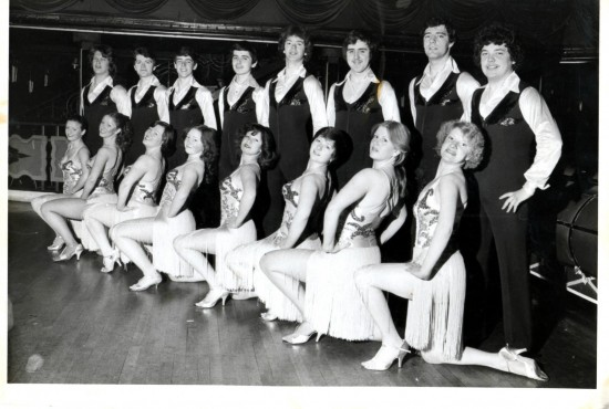 Scotland Latin American Dance Team 1979