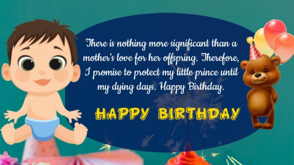Birthday Wishes to Baby Boy, Birthday wishes for baby boy, Happy Birthday wishes for Baby Boy