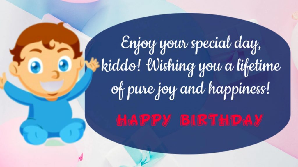 Happy Birthday Wishes to Baby Boy From Mother 2020