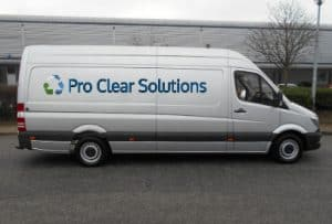 Pro Clear Solutions house clearance Ipswich - Pro Van Image