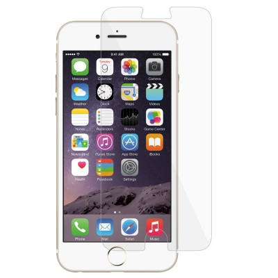 Macally TEMP7M, Tempered Glass Screen Protector for iPhone 7, Transparent