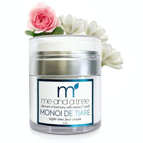 Monoi Age Defying Natural Nigh-time Face Cream Vegan Handcrafted