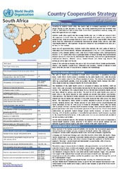 WHO country cooperation strategy at a glance: South Africa