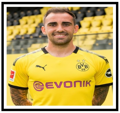 Paco Alcácer, one of the highest paid players in Dortmund