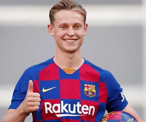 Frenkie de Jong one of the highest paid players in La Liga