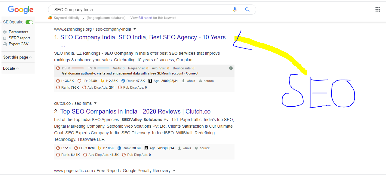 Explore here the knowledge of SEO. And how its a aimportant type of Digital Marketing.