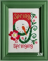 Spring is Springing from Val's Stuff